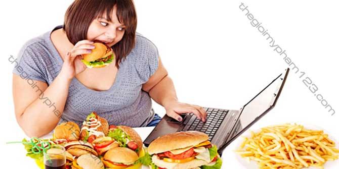 nguyên nhân béo phì