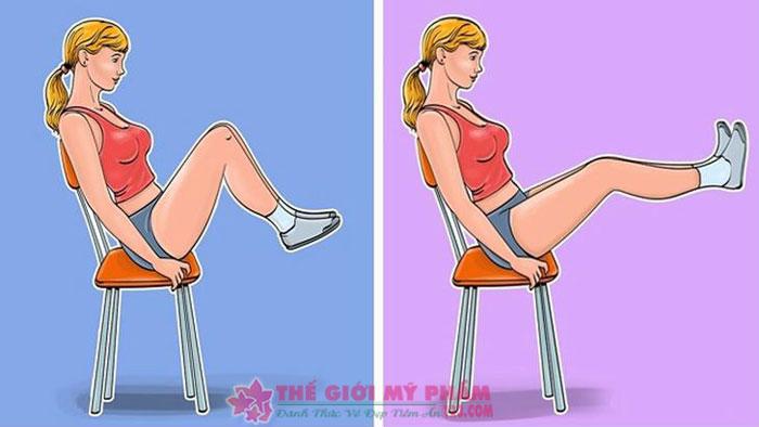 Tập thể dục tan mỡ bụng