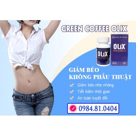 green coffee olix
