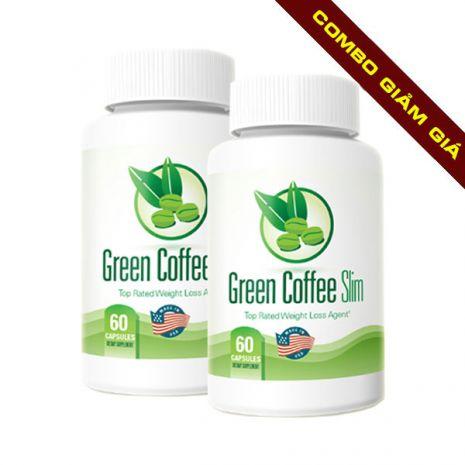 combo 2 green coffee slim