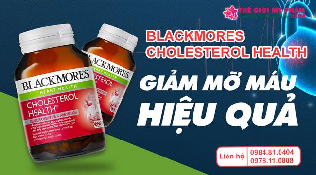 Công dụng của Blackmores Cholesterol Health
