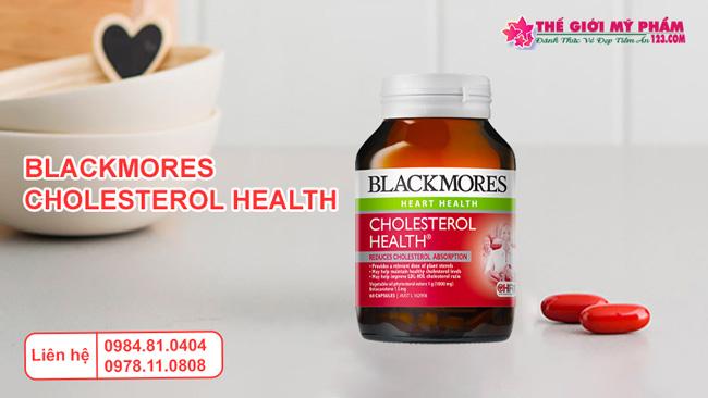 Giới thiệu Blackmores Cholesterol Health
