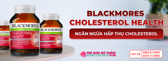 Viên uống Blackmores Cholesterol Health