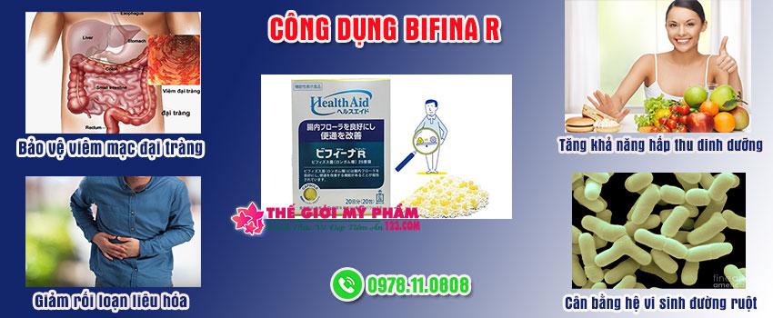 công dụng của Bifina R