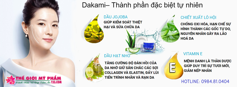 Dakami thành phần