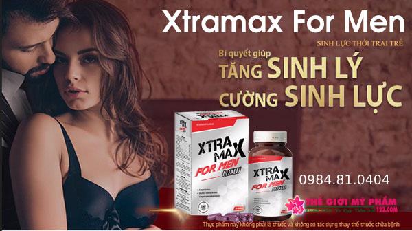 Giới thiệu về viên uống sinh lý Xtramax For Men