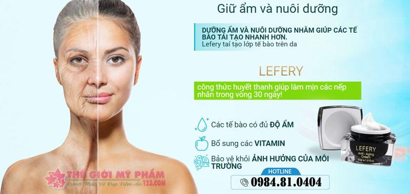 ưu điểm Lefery Cream