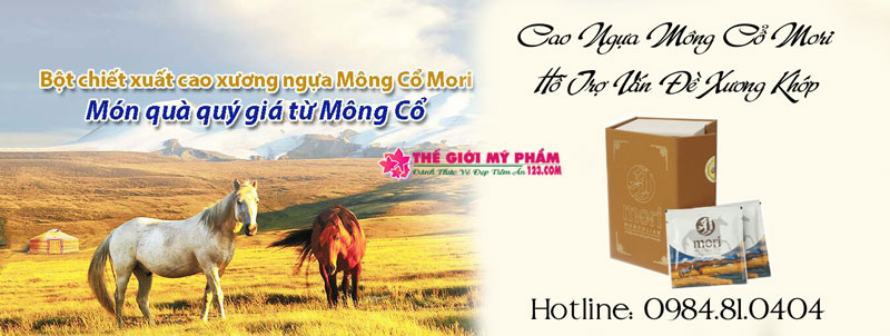 Công dụng Cao Ngựa Mông Cổ Mori