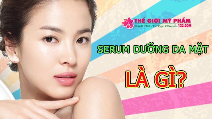 serum dưỡng da mặt là gì