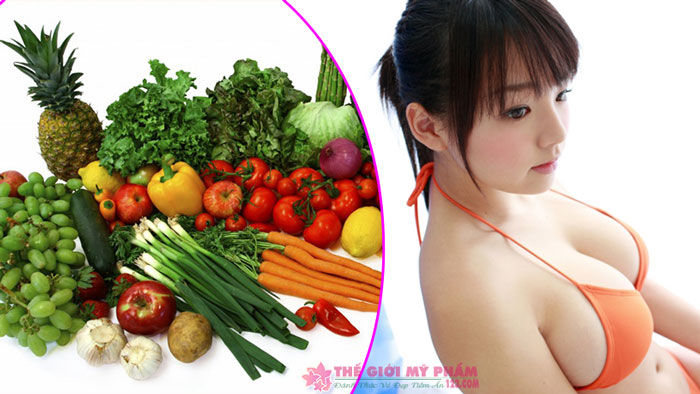 cách tăng vòng 1 bằng thực phẩm