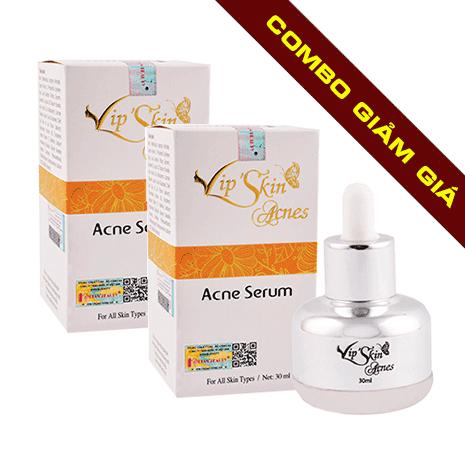 giảm giá khi mua combo 2 vip'skin acnes