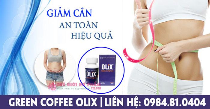 công dụng green coffee olix