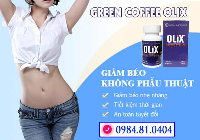 ưu điểm Green coffee olix