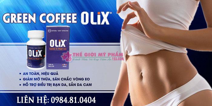green coffee olix giảm cân