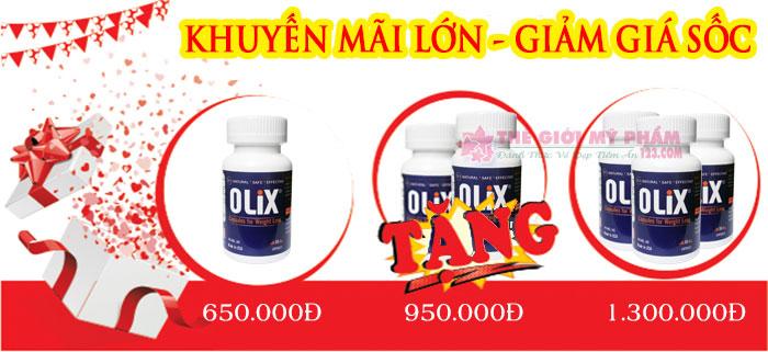giảm giá combo green coffee olix