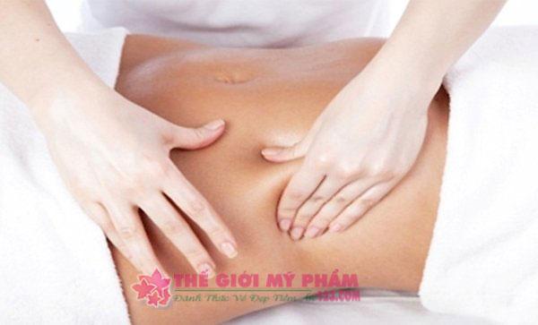 hướng dẫn massage làm tan mỡ bụng