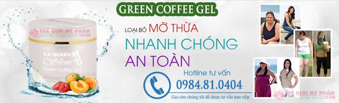 Green coffee gel