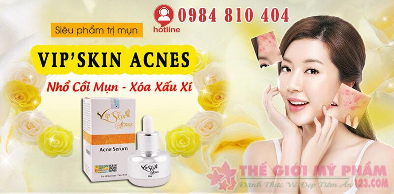 vip'skin acnes