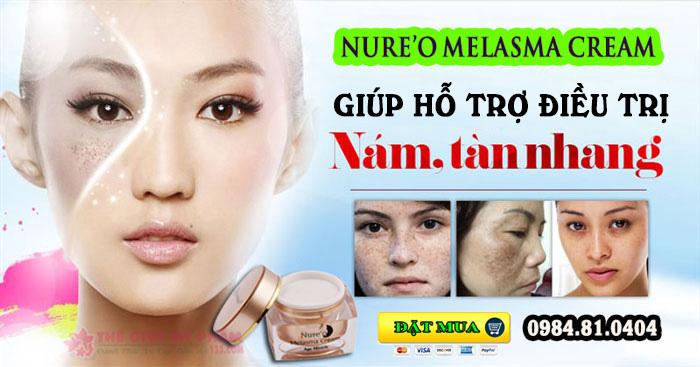 nure'o melasma cream công dụng