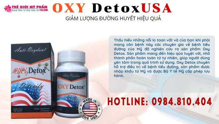 đánh giá chuyên gia về oxy detox