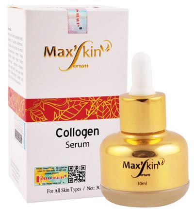 max'skin serum dưỡng da mặt