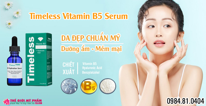 Timeless Vitamin B5 Serum
