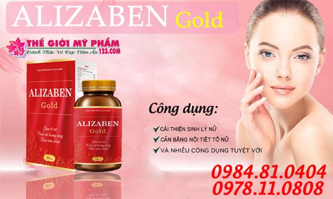 AlizabenGold/Alizaben-Gold-thegioimypham-Công Dụng
