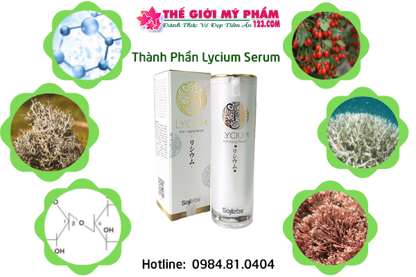 thành phần Lycium Serum