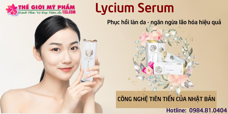 Công dụng Serum Lycium