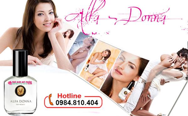 Nước hoa kích dục nam Alfa Donna