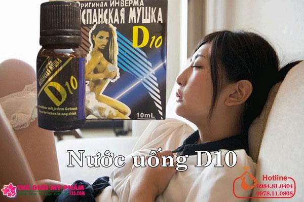 nước uống d10