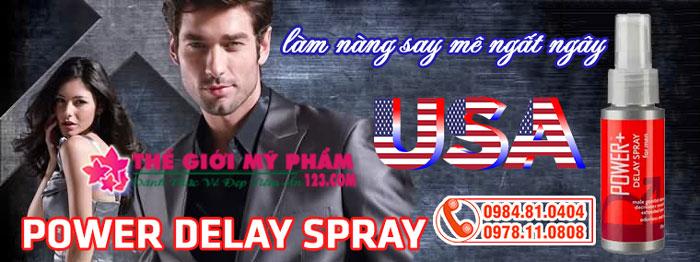 Power Delay Spray