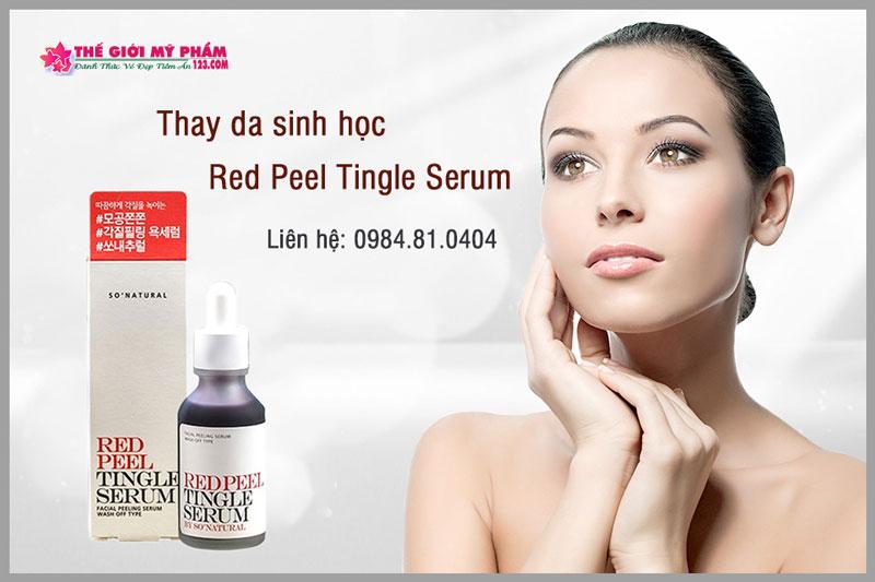 công dụng của red peel
