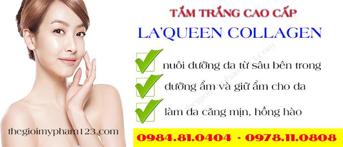 Công dụng của gói tắm trắng toàn thân La'queen collagen