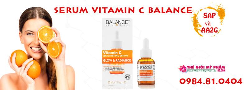thành phần serum vitamin c balance