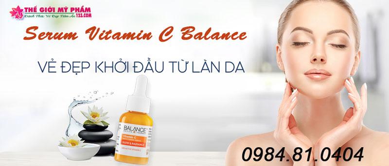 hướng dẫn sử dụng serum vitamin c balance