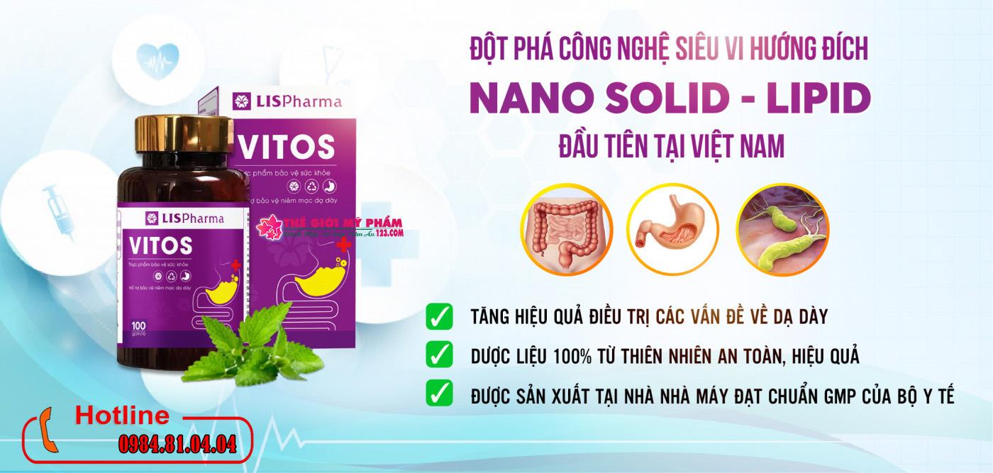 Dạ dày Vitos là sản phẩm gì?