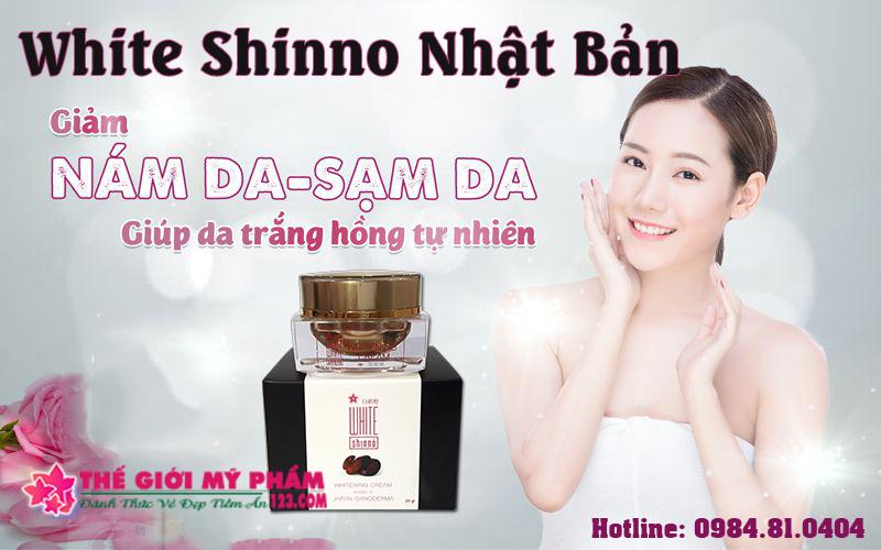 lời khuyên khi dùng kem shinno nhật