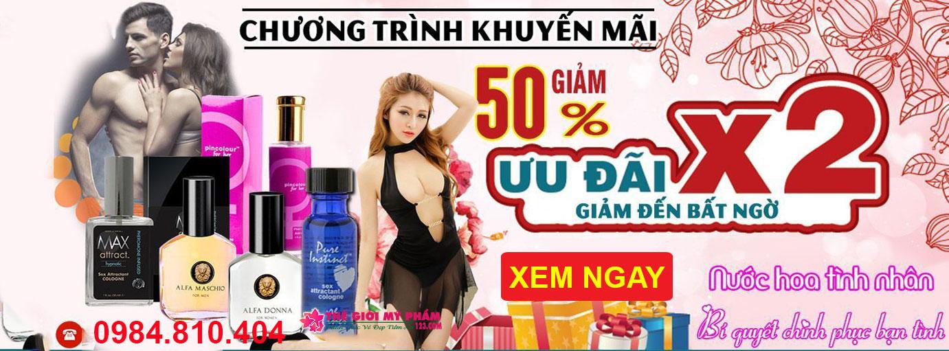 banner nước hoa kích dục
