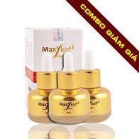 Thegioimypham123.com triển khai chương trình ưu đã khuyến mãi giảm ngay 20% từ đây đến cuối năm, khi khách hàng mua Combo 2 lọ lót dưỡng da chính hãng Hàn Quốc Max'skin Serum với giá chỉ còn 1.200.000 VNĐ so với giá gốc 1.500.000 VNĐ
