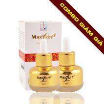 hegioimypham123.com triển khai chương trình ưu đã khuyến mãi giảm ngay 20% từ đây đến cuối năm, khi khách hàng mua Combo 2 lọ lót dưỡng da chính hãng Hàn Quốc Max'skin Serum với giá chỉ còn 1.200.000 VNĐ so với giá gốc 1.500.000 VNĐ