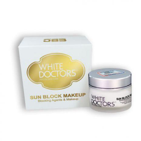 kem chống nắng trang điểm white doctors sunblock makeup