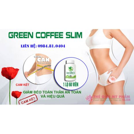 Green Coffee Slim giảm cân