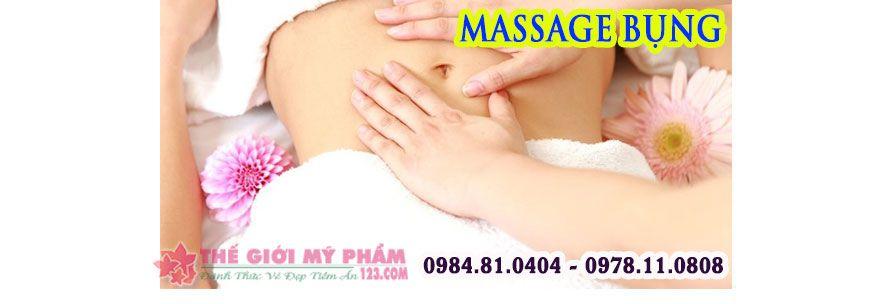 Cách massage bụng bằng tay